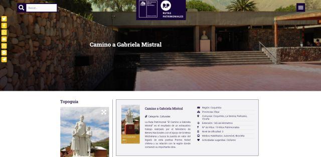 Camino de Gabriela Mistral