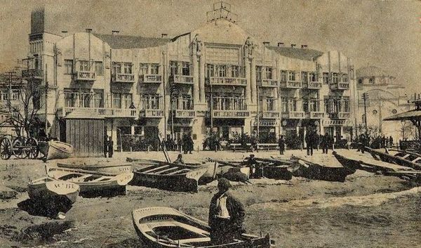 Гостиница Бейлер в Евпатории