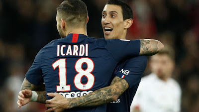 Video Cuplikan Gol: Paris Saint-Germain 2-0 Lille (Ligue 1)