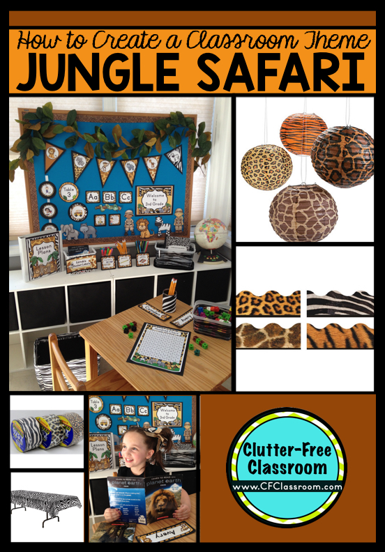 Jungle Theme Classroom Decorating Ideas Part - 21: Are You Planning A Jungle Safari Themed Classroom Or Thematic Unit? This  Blog Post Provides