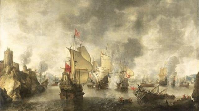 معركة شاول البحرية بين اسطول المماليك واسطول البرتغاليين