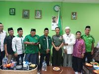 Pererat Silaturahmi, Dandim 0201/BS Kunjungi Nahdlatul Ulama Kota Medan
