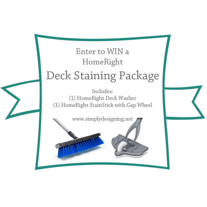 Win a Deck Staining Package