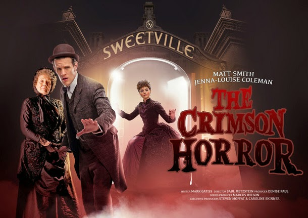 Crimson Horror Doctor Who TV poster