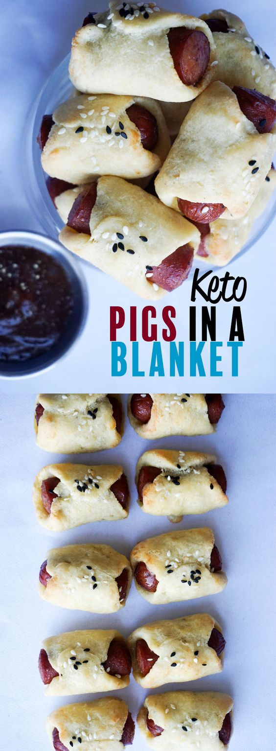 Keto Pigs In A Blanket Recipe