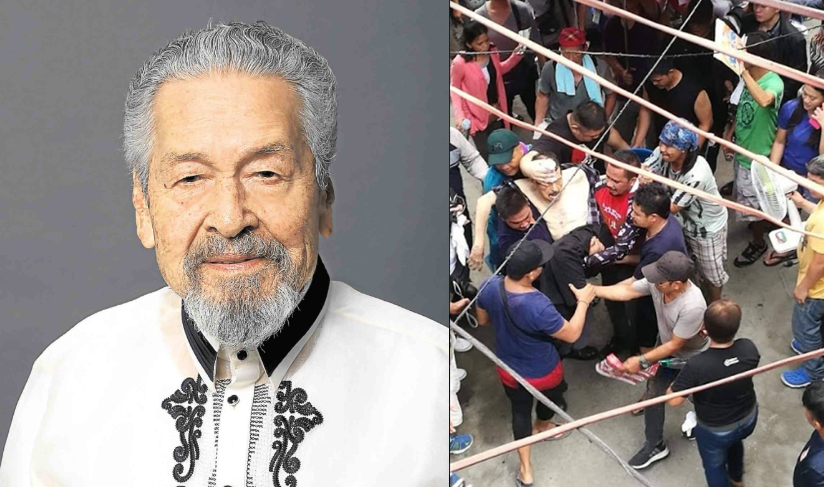 Eddie Garcia collapsed while taping for new teleserye, fell into coma