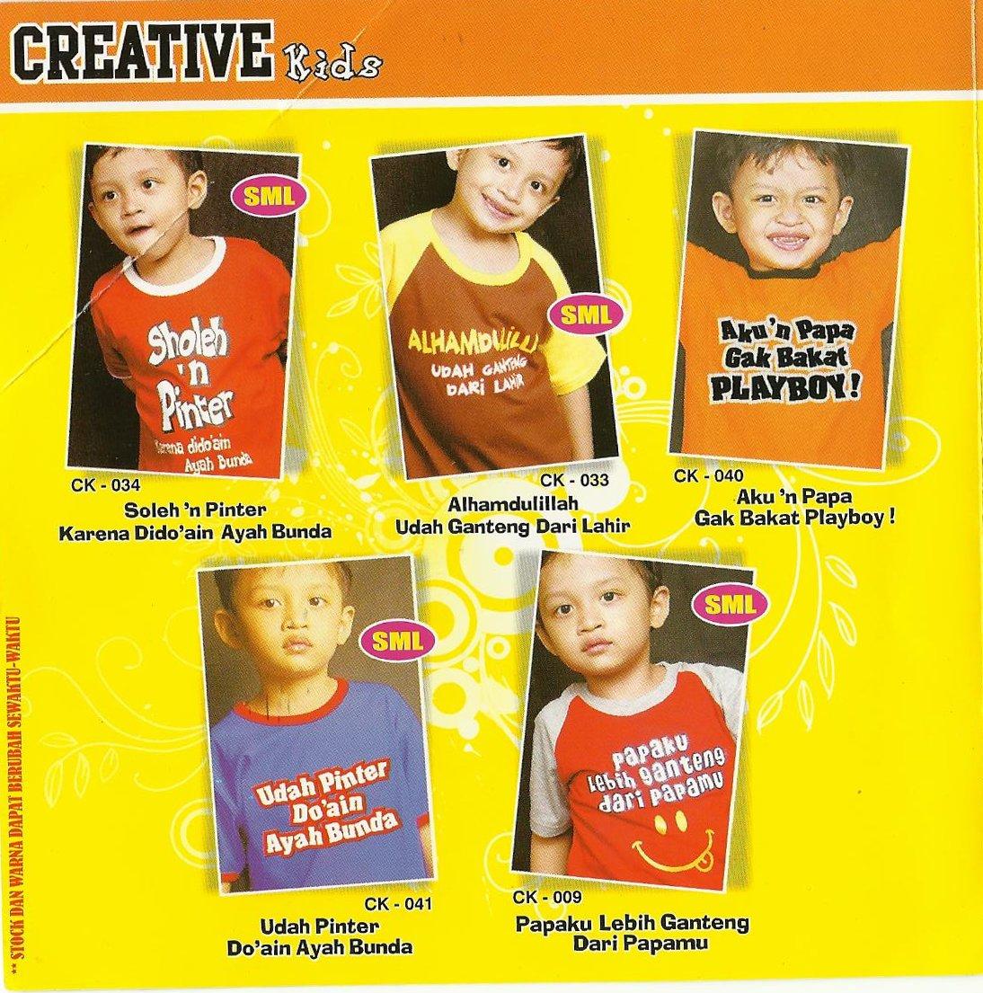 Kids T Shirt Kaos Anak Lucu Bangeets
