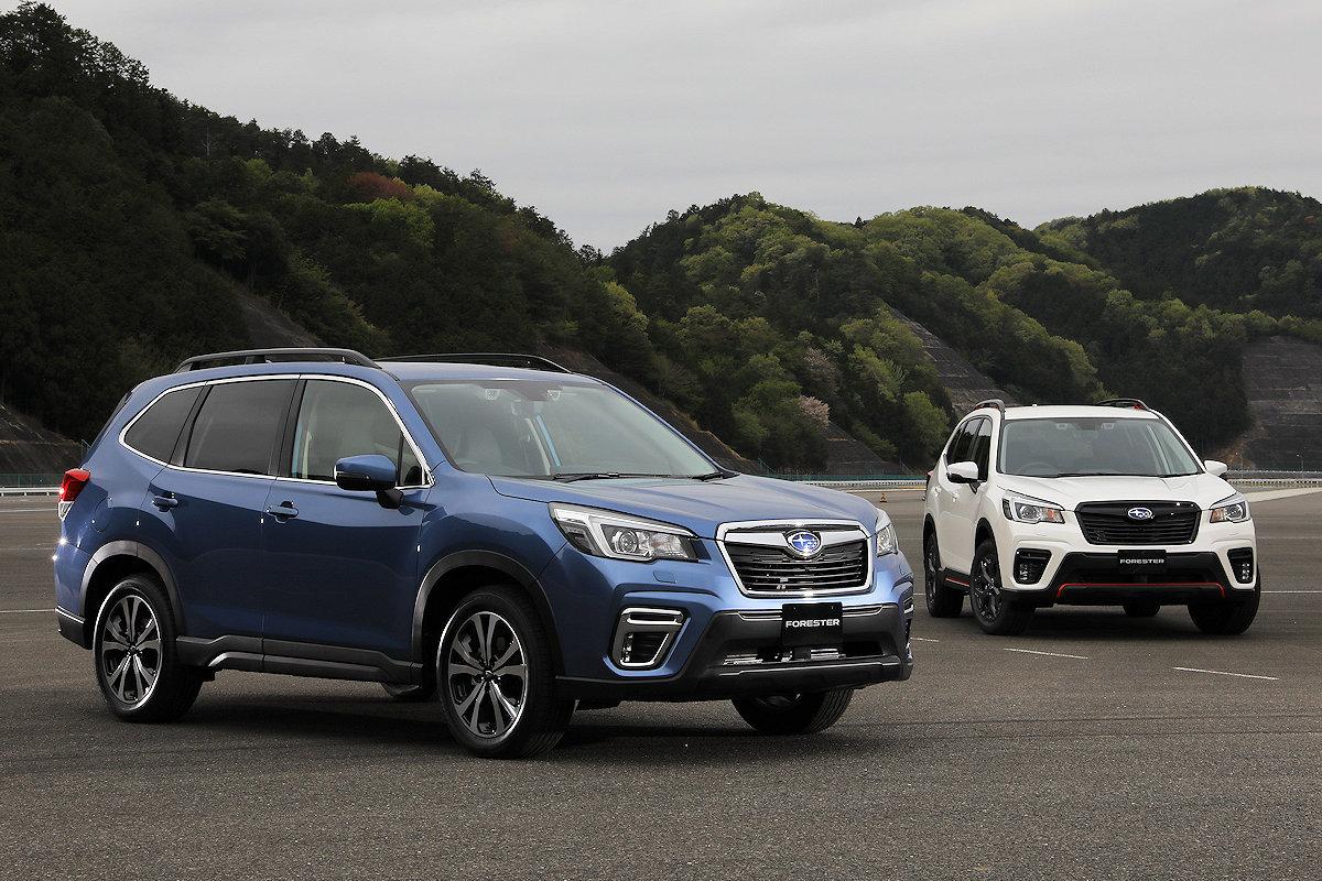 2019 Subaru Forester Scores Perfect at Japan's Revised Crash