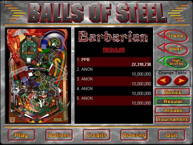Pinball Wizards - Balls Of Steel
