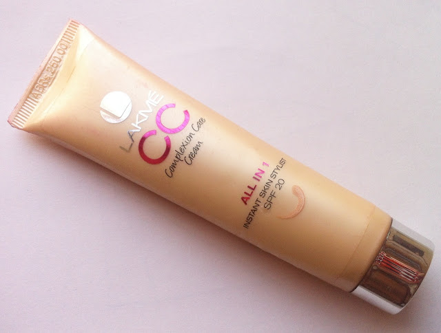 Lakme Complexion Care(CC) Cream in Bronze Review, Pictures and Swatches