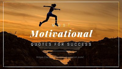 Most motivational quotes for success