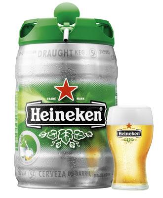 cuanto cuesta un barril de cerveza heineken