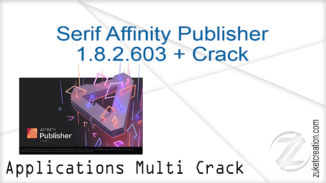 Serif Affinity Publisher 1.8.2.603 + Crack