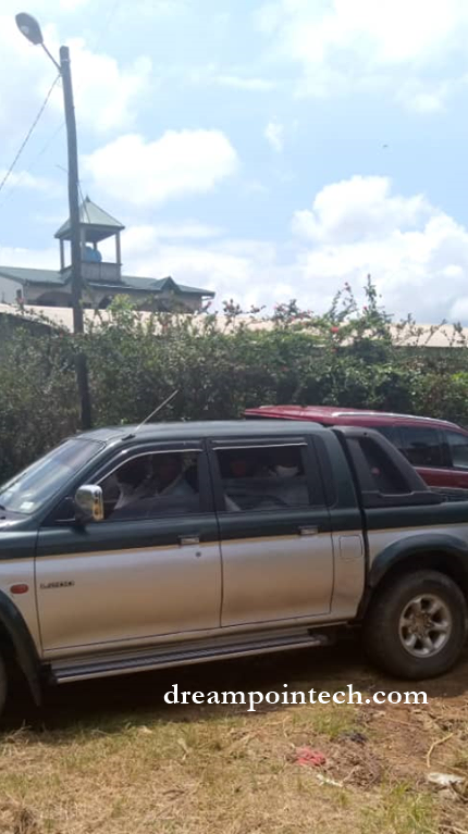 Corpse of mama Nguea La Route being taken to the mortuary