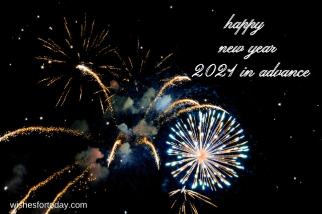 Happy new year 2021 in advance Pictures for Whatsapp