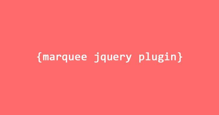 Membuat Efek Marquee Dengan Jquery Plugin