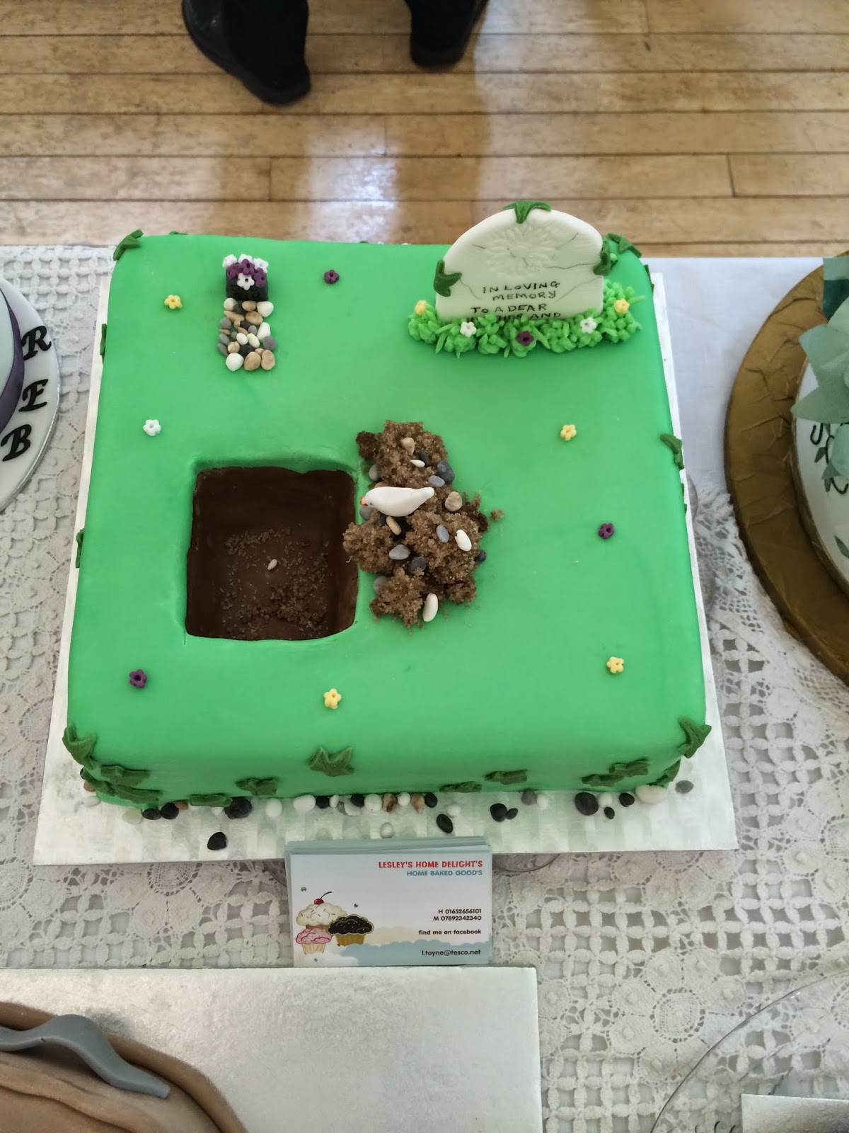 Respect Funeral Cakes