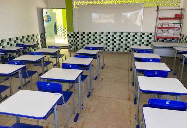 Escolas recebem investimentos em infraestrutura em