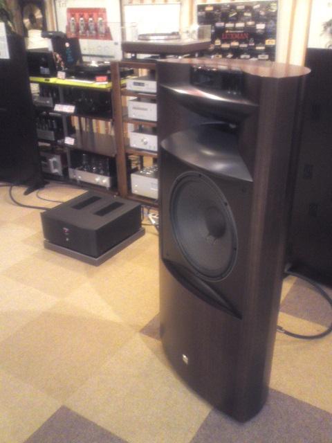 オーディオスクェア藤沢店のブログ: シルバーウィークの間、JBL