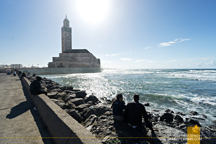 Casablanca 4 Day Itinerary Hassan II Mosque Boulevard