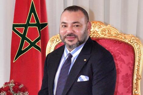 الملك يستقبل رئيس مفوضية الاتحاد الإفريقي
