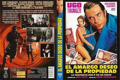 Carátula dvd: El amargo deseo de la propiedad