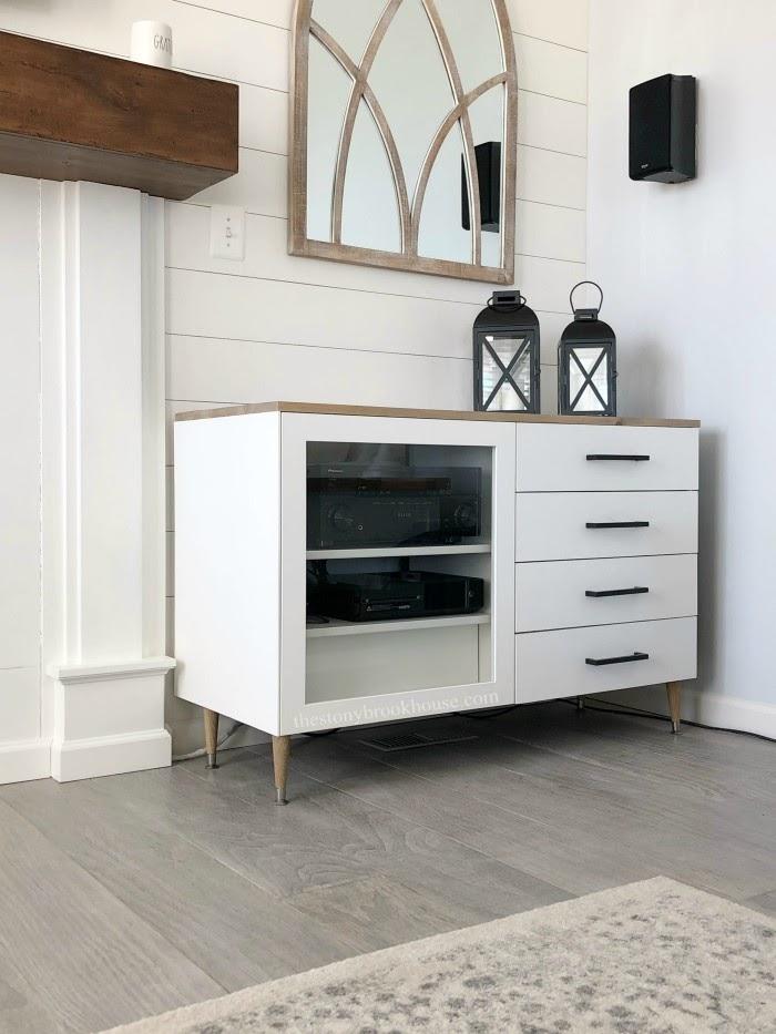 IKEA Besta Cabinet makeover