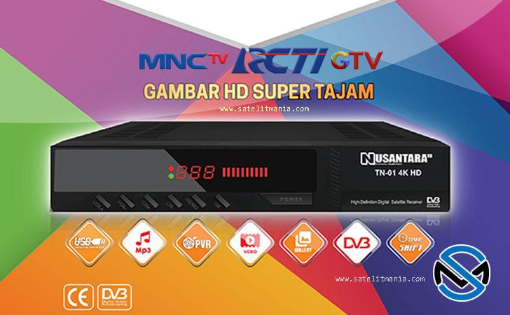 Nusantara HD: Receiver Rekomendasi Siaran RCTI, MNCTV dan GTV