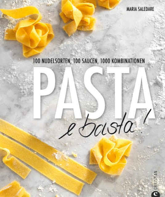 Gartenblog Topfgartenwelt Buchtipp Pasta e basta! Rezept: Spaghettoni all'amatriciana: Cover Quelle Christian-Verlag