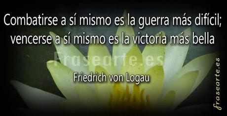 Citas Motivadoras - Friedrich von Logau