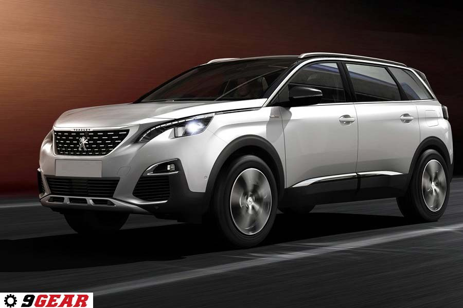 All new Peugeot 5008 SUV Seven seater SUV in the C