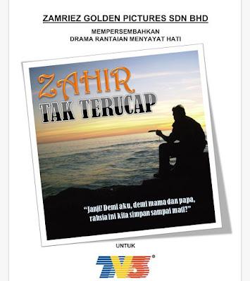 Sinopsis Drama Zahir Tak Terucap Di TV3 Dalam Slot Zehra!