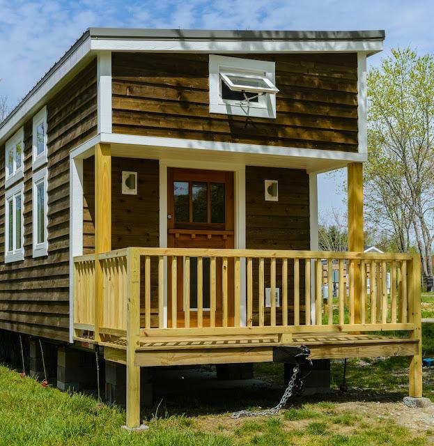 Wynette tiny house from Wishbone Tiny Homes