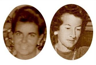 Las ajedrecistas Pepita Ferrer Lucas y María Luisa Gutiérrez