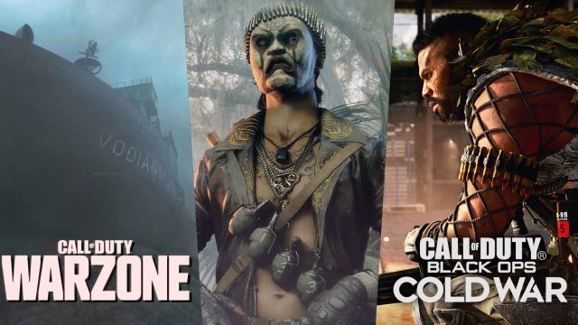 CoD: Warzone and Black Ops Cold War news Season 2   Zombies, weapons and maps