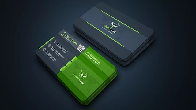 Graphic Design Business Cards Template Design | Adobe Photoshop Tutorial