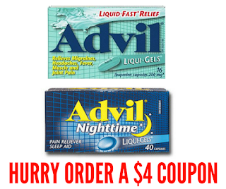 Advil Coupons Mailed To You- Claim Yours Today!