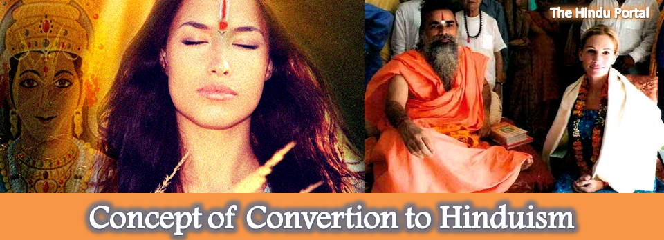 Concept of Convertion to Hinduism