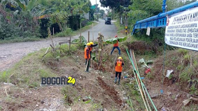 Mulai Berjalan, Ini Pesan Ketua LPM Bojongkerta pada Kontraktor Proyek Cimakaci