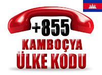 +855 Kamboçya ülke telefon kodu
