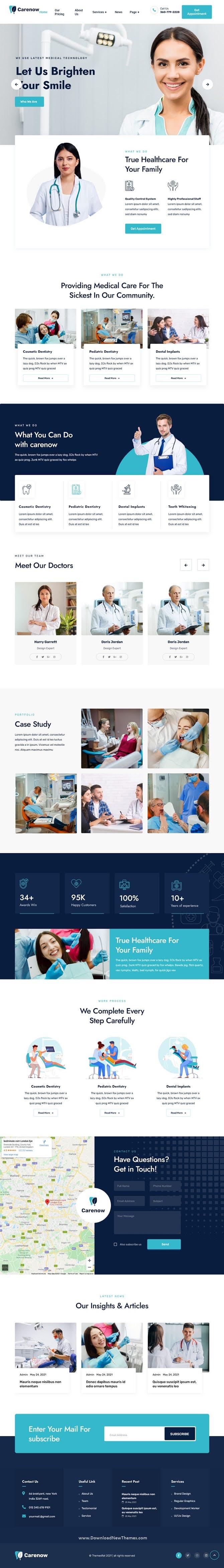 Medical & Dentist Elementor Template Kit