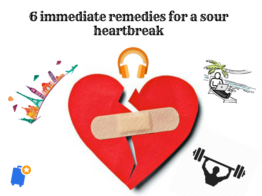 Heartbroken remedies