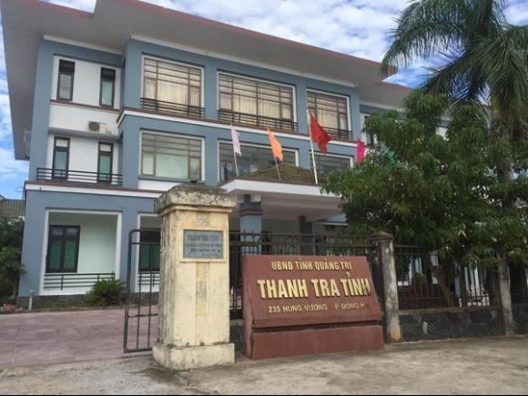 """Hai cán bộ Thanh tra tỉnh Quảng Trị """"dính"""" vào chuyện quan hệ nam nữ không trong sáng"""