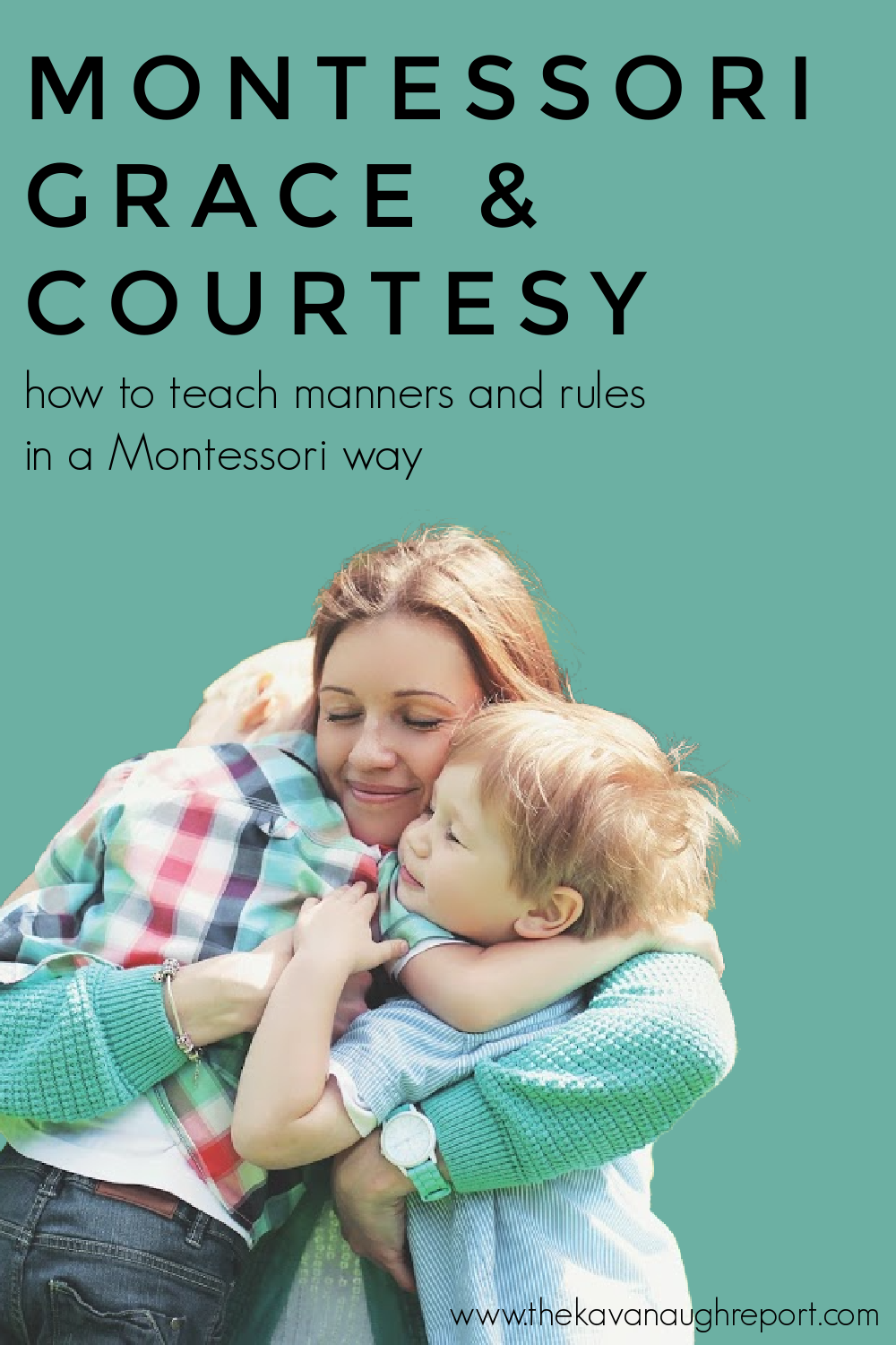 Grace and courtesy lessons are the Montessori parenting hack you need! These easy to use tips help you to teach manners and rules in a Montessori way.