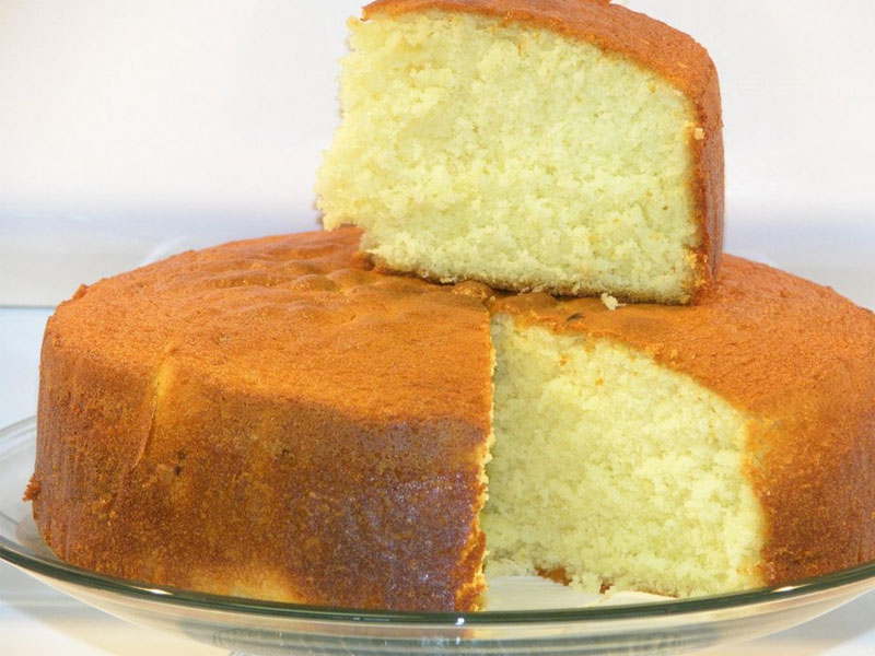 Fluffy Butter Cake Recipe