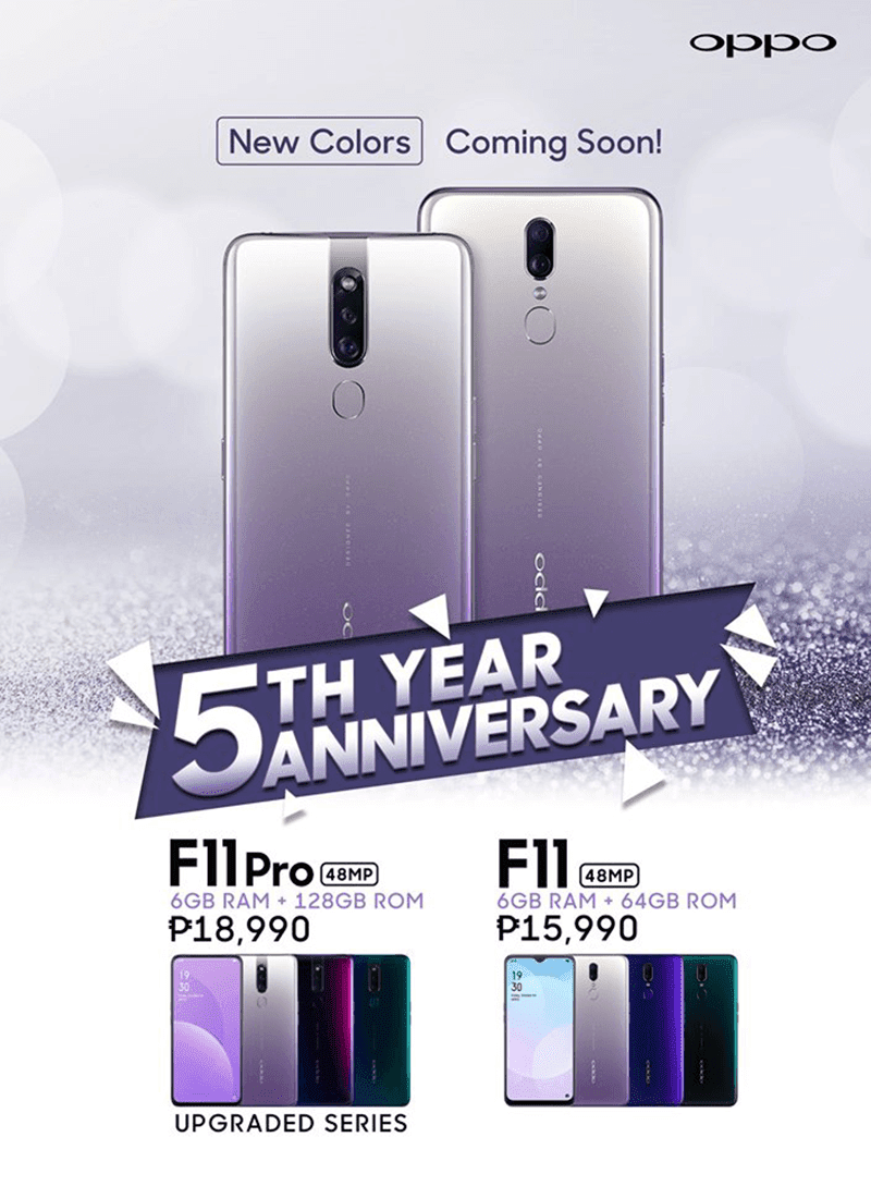 OPPO F11 Pro with new colorway and larger 128GB arrives in PH for the same price!