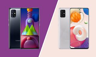 Perbedaan Samsung Galaxy A51 dan M51