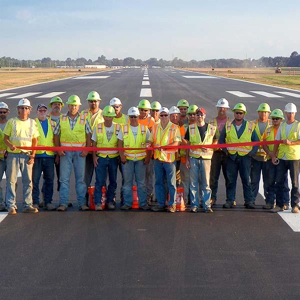 Garver aids Rogers Executive Airport in quick runway rehabilitation