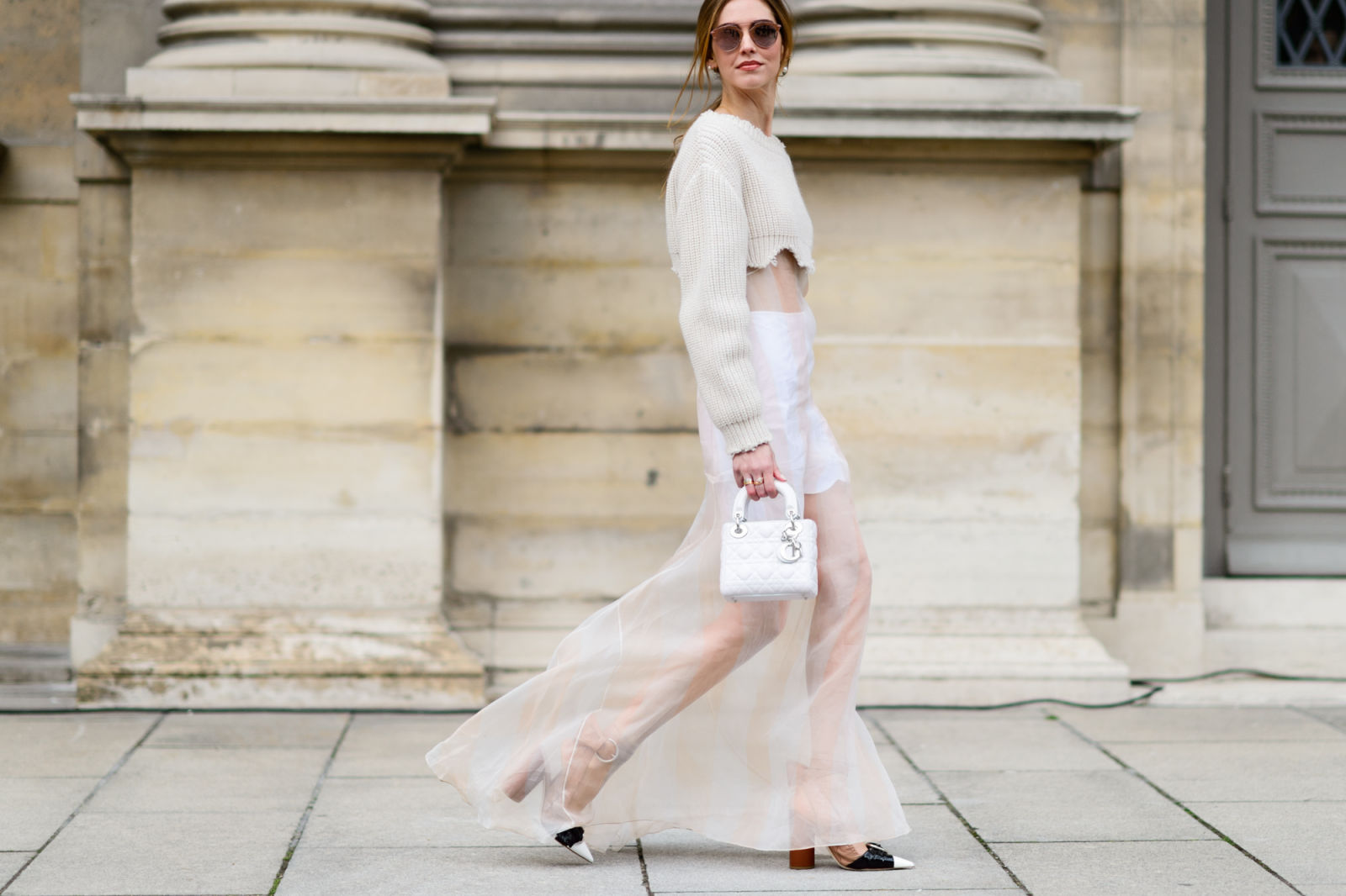 Chiara Ferragni - The Best Street Style From Paris Fashion Week - Elle