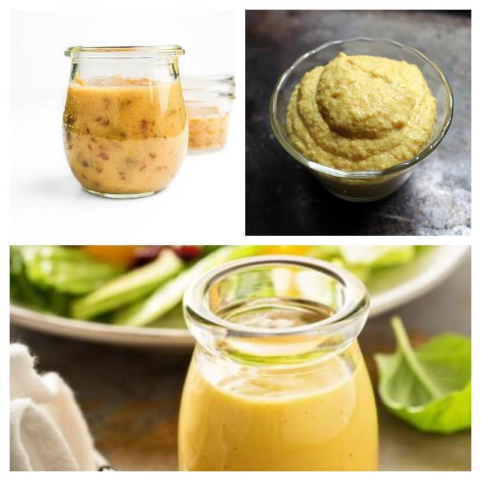Vegan mustard and mustard dressing
